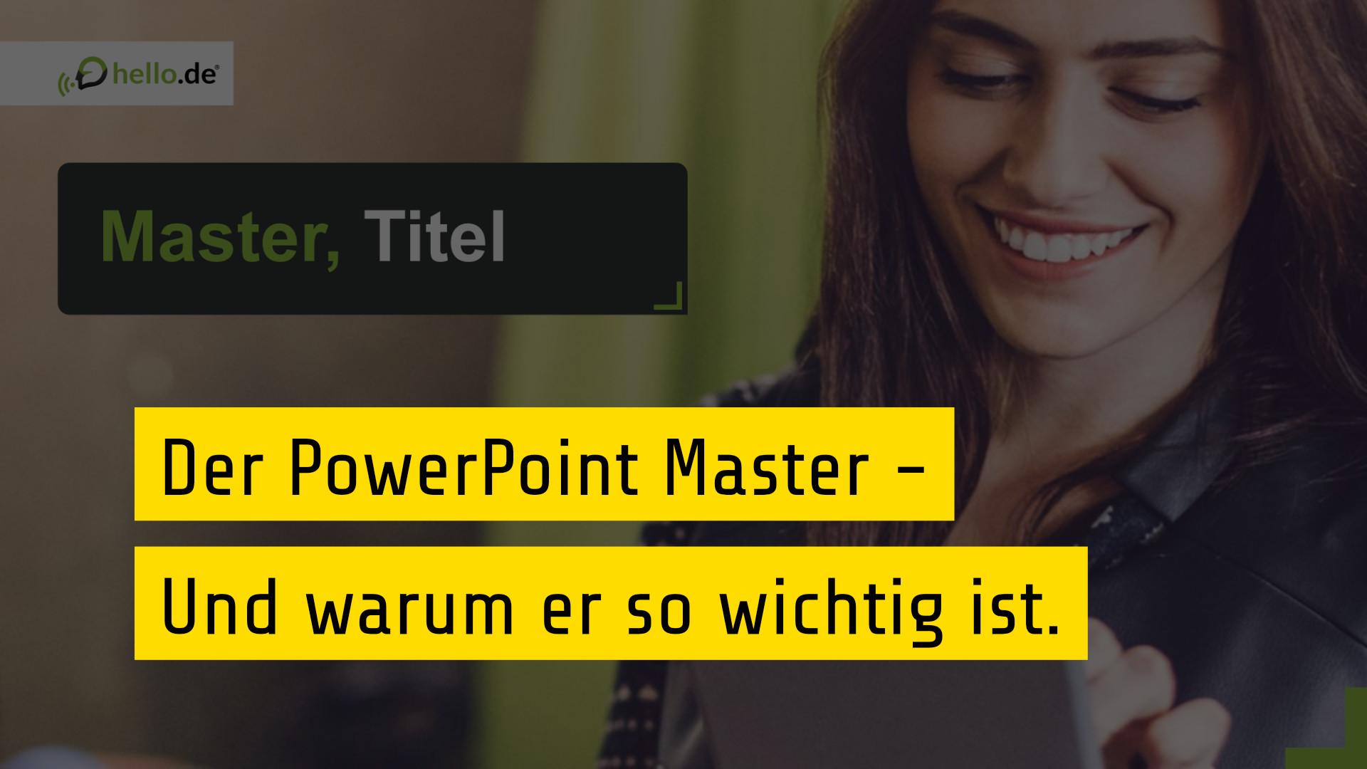 PowerPoint Master