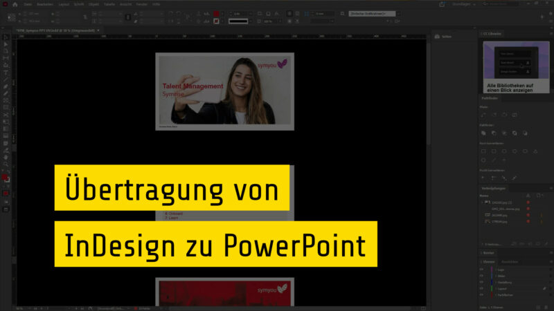InDesign Präsentation