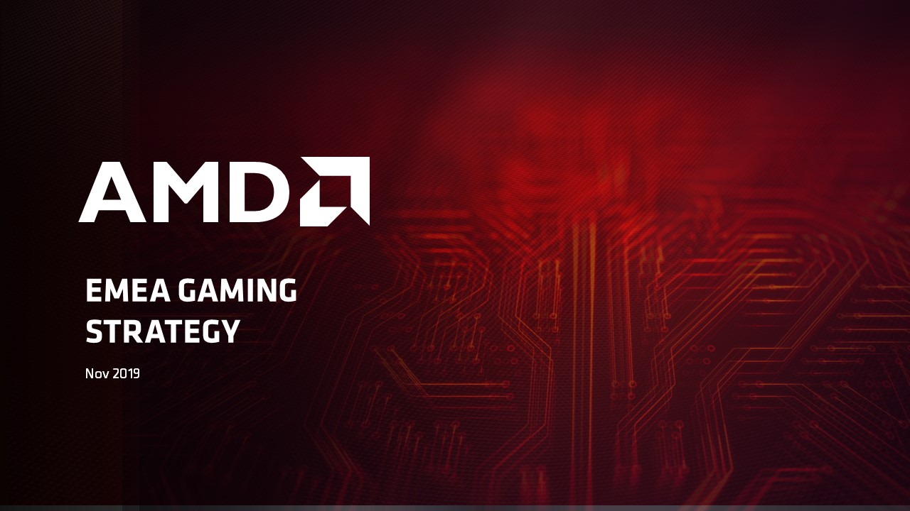 AMD PowerPoint Präsentation