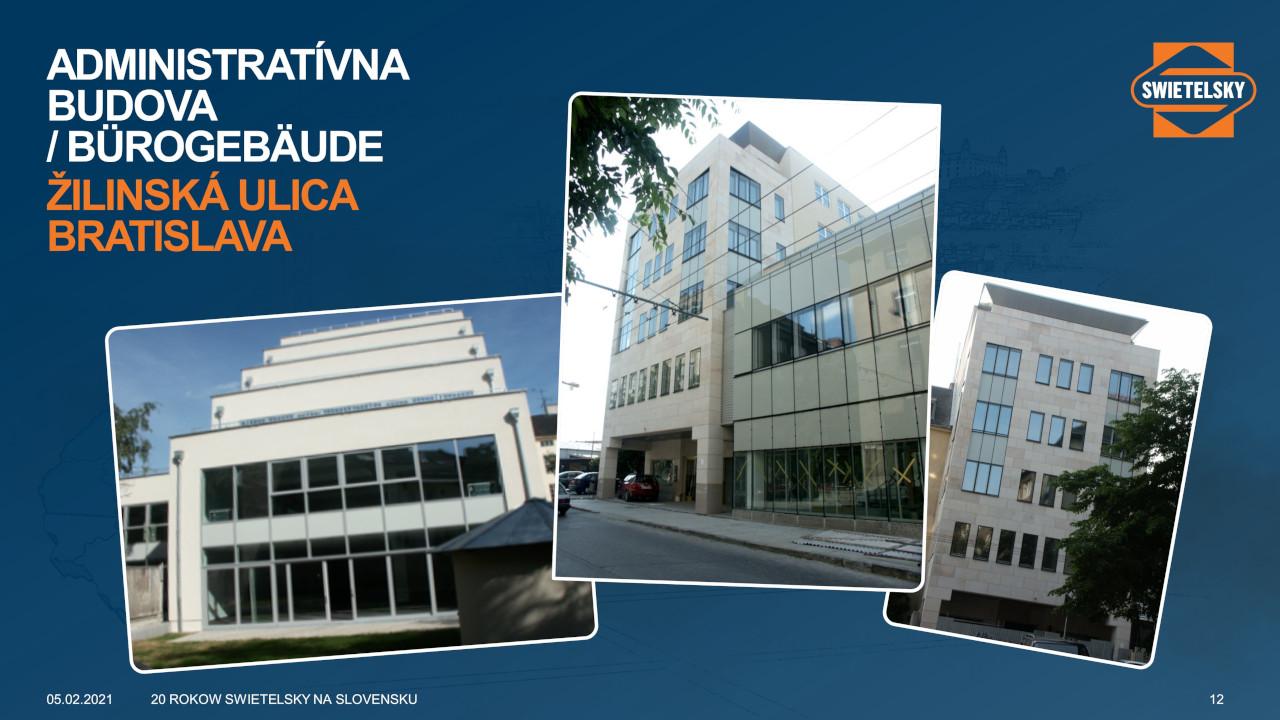 Firmenpräsentation Firmengebäude