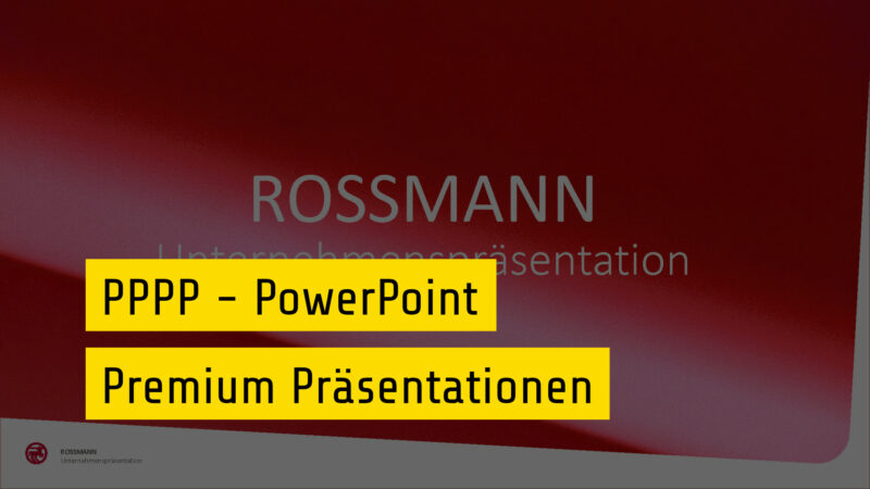 PPP PowerPoint Premium Präsentationen